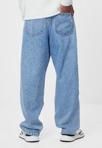 Bershka - Jeans baggy - blue - 2
