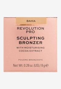 Revolution PRO - SCULPTING BRONZER - Bronzer - bahia - 3