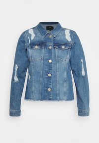 ZAY - YRIPPED JACKET - Denim jacket - light blue denim - 5