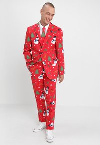 OppoSuits - Oblek - red - 1