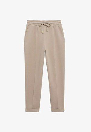 Pantalon de survêtement - licht/pastelgrijs