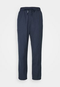 Tommy Jeans - PINSTRIPE PANT - Trousers - twilight navy/white - 4