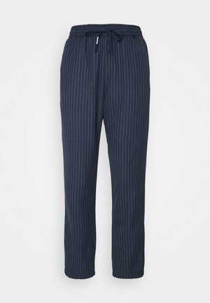 PINSTRIPE PANT - Bukse - twilight navy/white