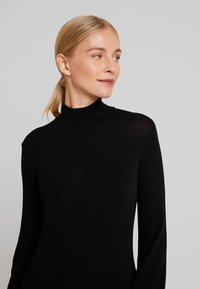 Love Copenhagen - MARIELC TURTLE NECK DRESS - Maxi dress - pitch black - 6