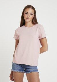 ONLY - ONLMOSTER STRING - T-Shirt print - pale mauve - 0