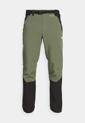 MEN'S DIABLO II PANT - Outdoor trousers - thyme/black