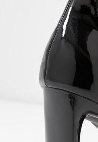 BEBO - CLAIRE - Højhælede sandaletter / Højhælede sandaler - black - 2