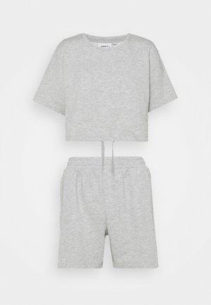 ONLISSI LIFE SET - Basic T-shirt - light grey melange