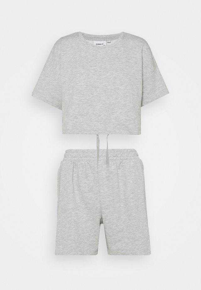 ONLISSI LIFE SET - T-shirt - bas - light grey melange