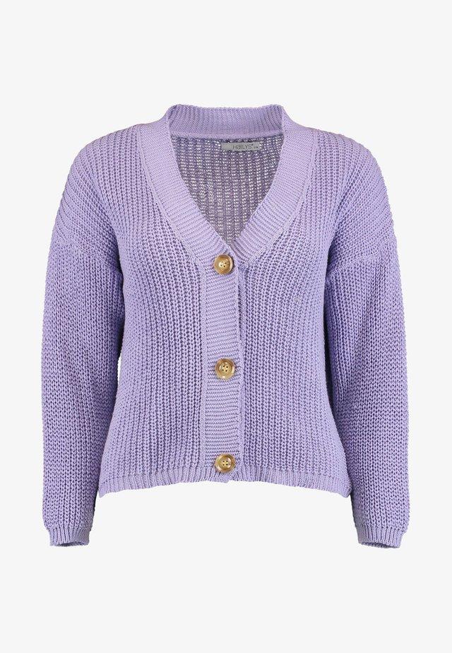 Cardigan - lavender