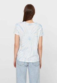 Stradivarius - T-shirts print - light blue - 2