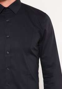 OLYMP No. Six - OLYMP NO.6 SUPER SLIM FIT - Shirt - schwarz - 3