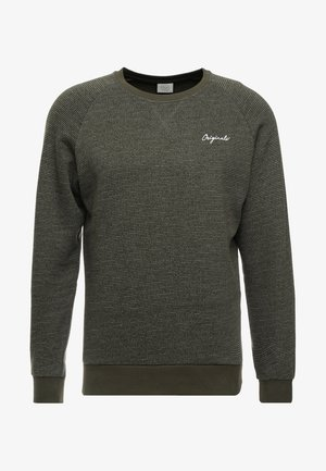 JORHIDE CREW NECK - Felpa - forest night