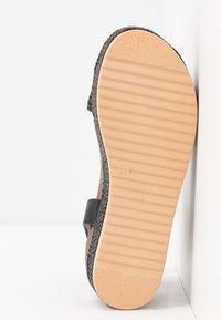 mtng - PERLA - Platform sandals - black - 6
