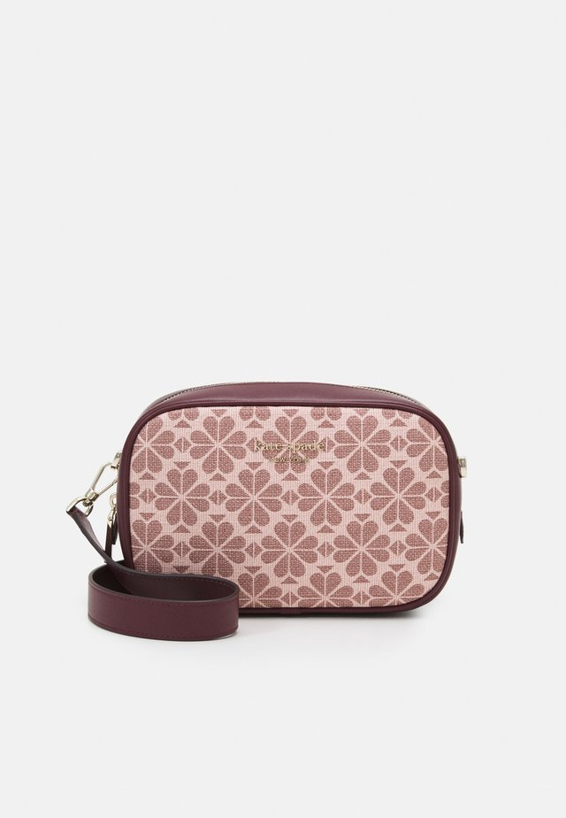 MEDIUM CAMERA BAG - Sac bandoulière - pink/multi