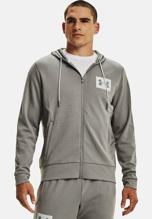 UA SUMMIT - Zip-up sweatshirt - dark grey