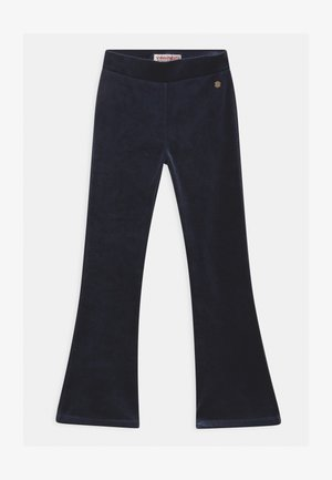 SHINNA FLARE - Kalhoty - dark blue