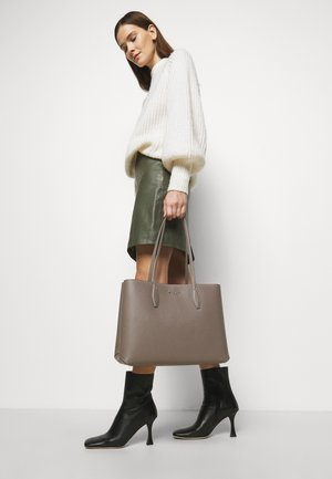 LARGE TOTE SET - Tote bag - mineral grey