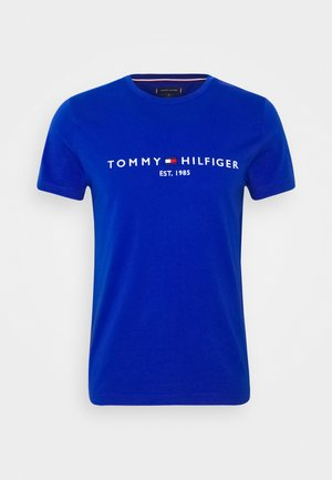 LOGO TEE - T-shirt med print - blue