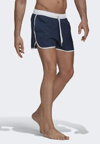 adidas Performance - SPLIT ZWEMSHORT - Swimming shorts - blue - 2