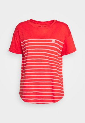 MEMORIAL DAY TEE - Camiseta estampada - coral frost