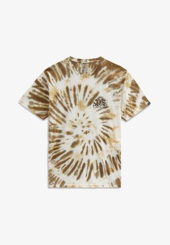 MN LOOK AHEAD SS - T-shirts print - nutria/tie dye