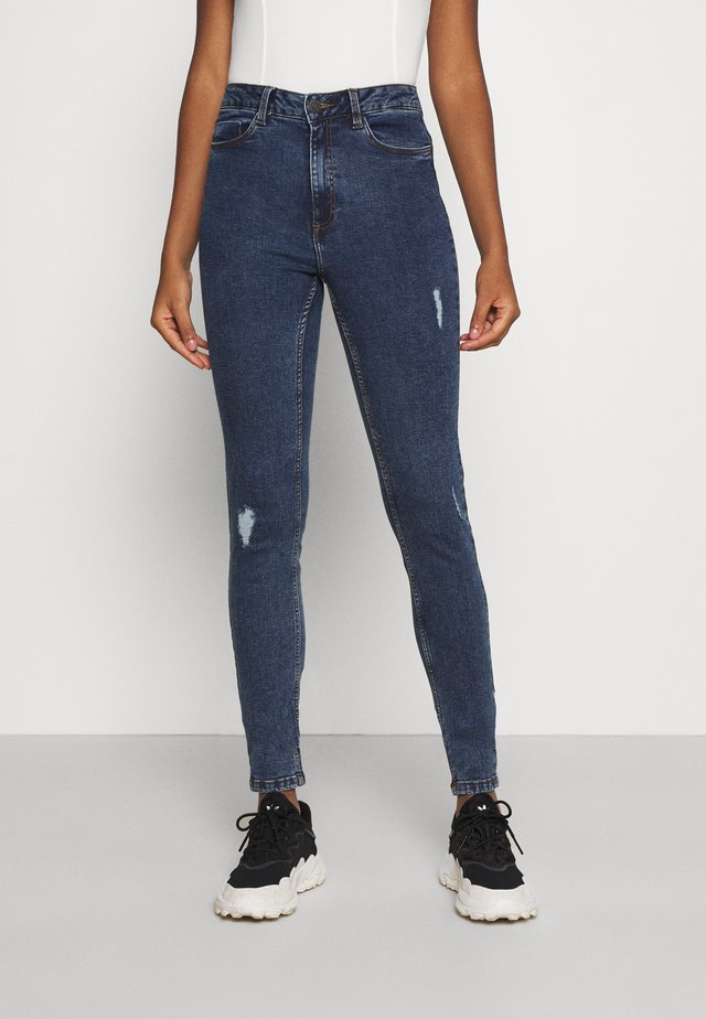 NMCALLIE BREAK - Jeans Skinny Fit - medium blue denim