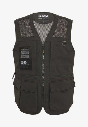 AETHER VEST - Bodywarmer - flint black