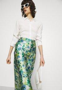 Lindex - SKIRT MEDEA - A-line skirt - blue - 3