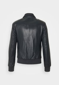 Serge Pariente - STYLE - Leather jacket - navy - 1