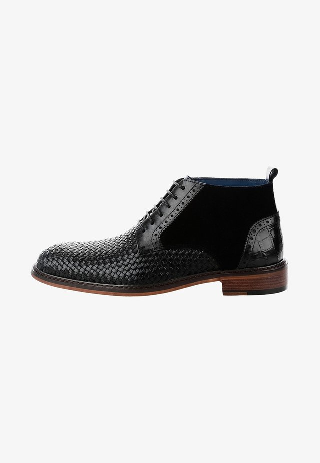 BADESI - Chaussures à lacets - black