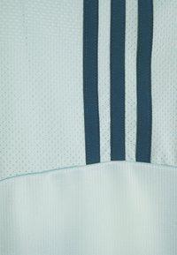 adidas Performance - Print T-shirt - haze green/wild teal - 2