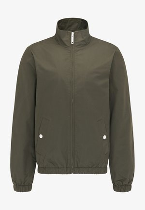 Summer jacket - dunkeloliv