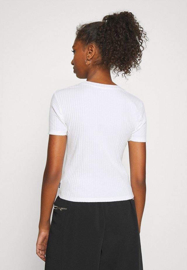 ROSE - T-shirt print - white