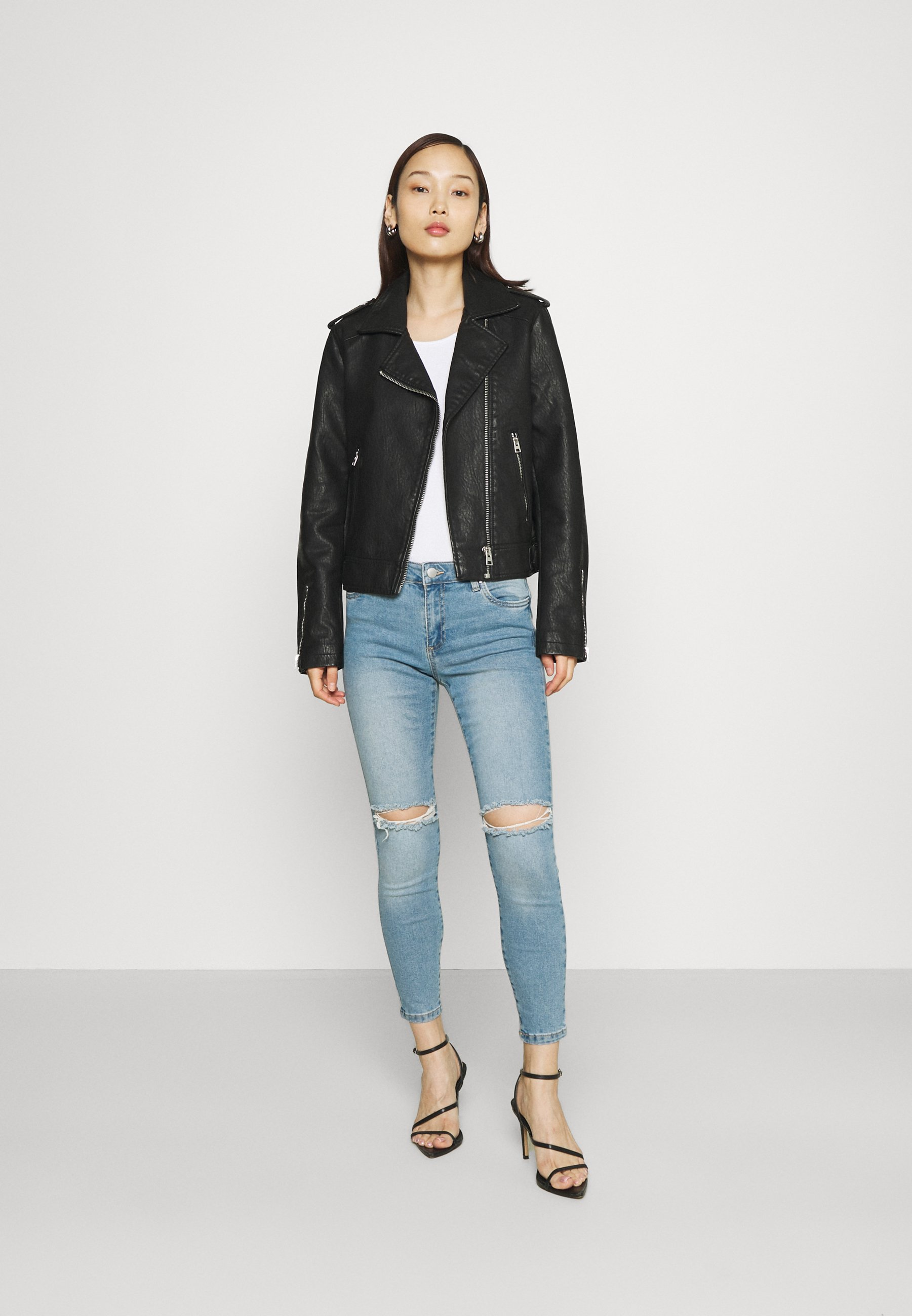 Women MID RISE CROPPED - Jeans Skinny Fit - venice blue