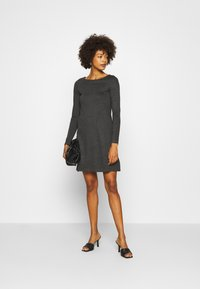 Anna Field - Jersey dress - dark grey melange - 1