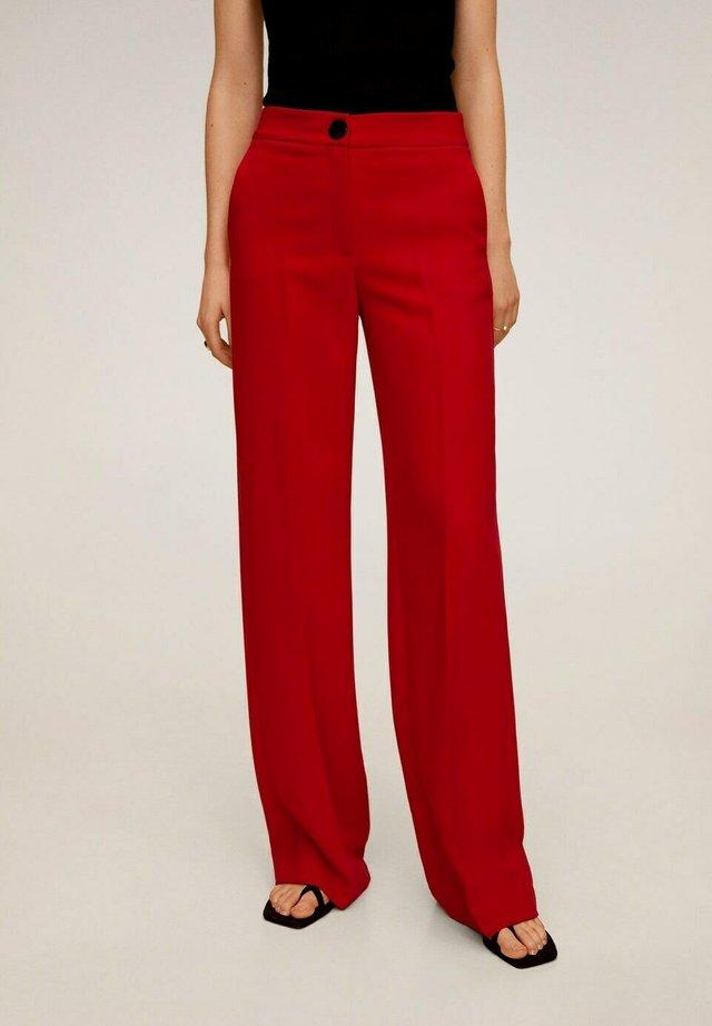 SIMON-I - Pantalon classique - rood