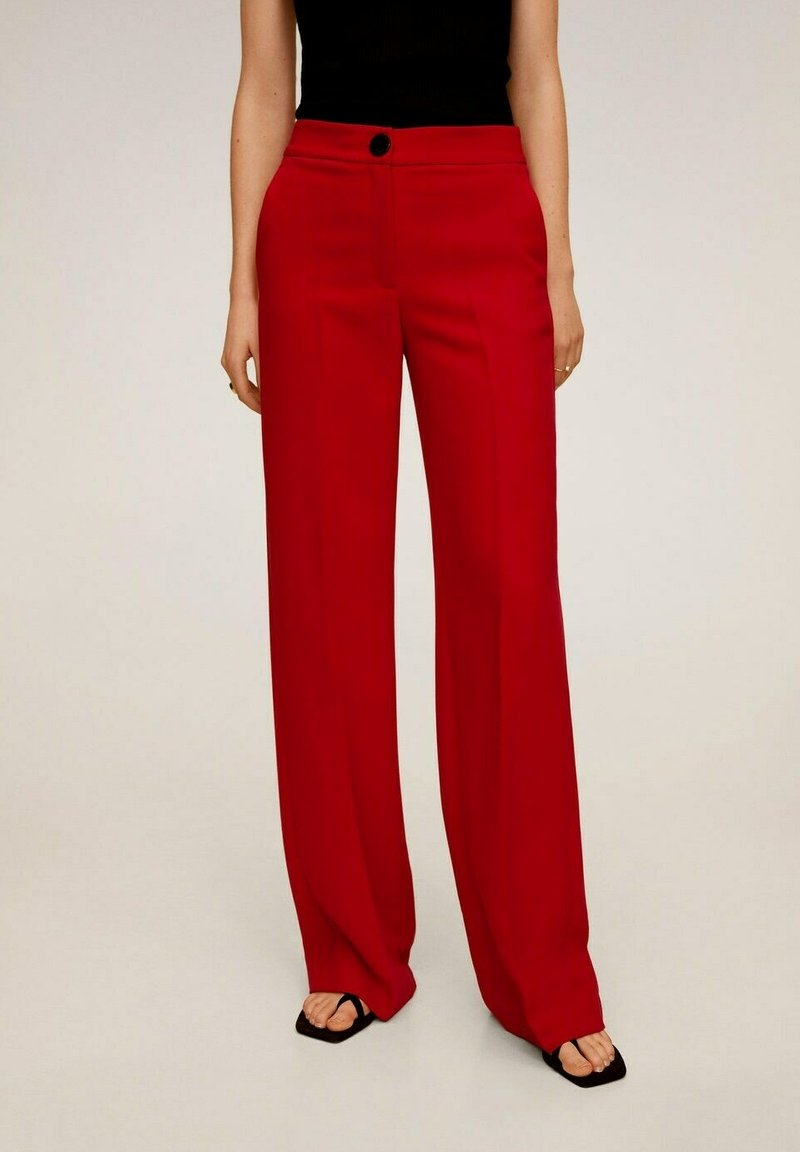 Mango - SIMON-I - Trousers - rood