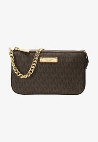 MICHAEL Michael Kors - POUCHES CHAIN POUCHETTE - Clutch - brown