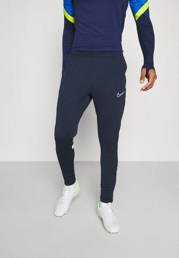 ACADEMY 21 PANT - Pantaloni sportivi - obsidian/white