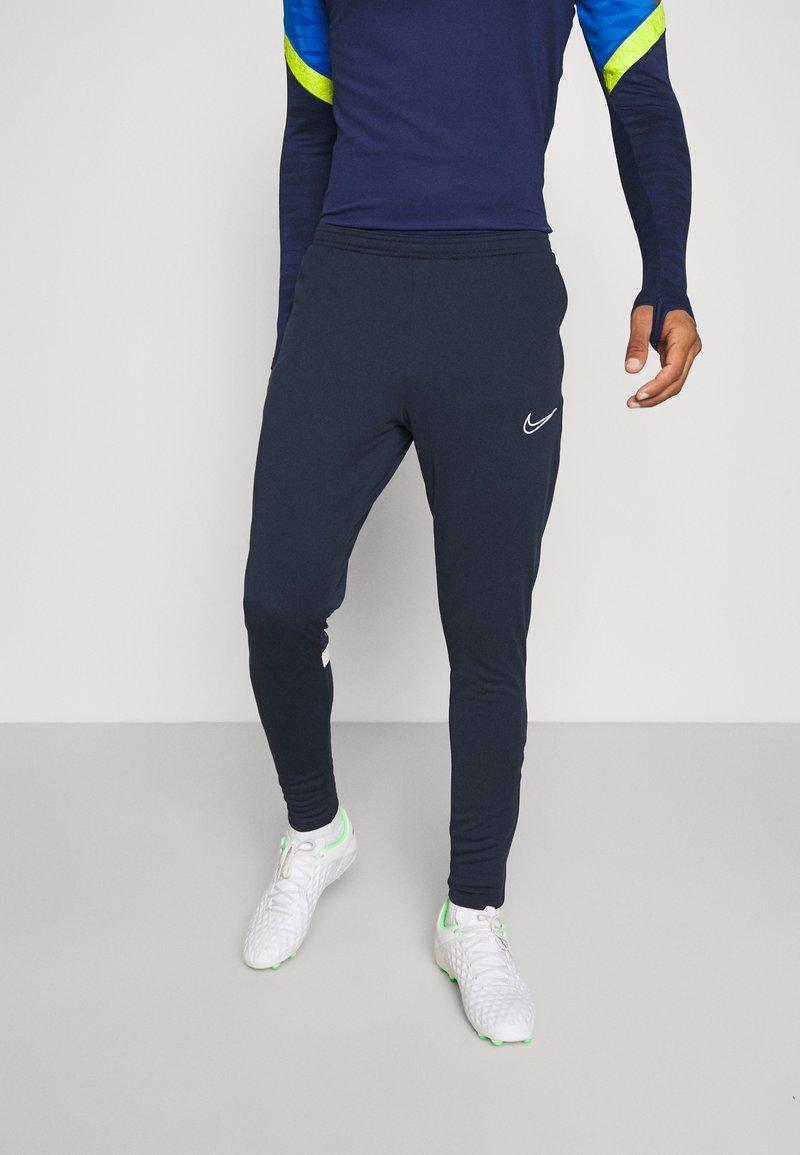 Nike Performance - ACADEMY PANT - Pantaloni sportivi - obsidian/white