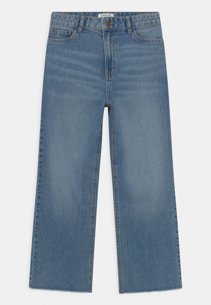 Lindex - LOTTE  - Jeans Relaxed Fit - blue denim
