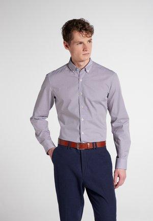SLIM FIT - Shirt - orange blau