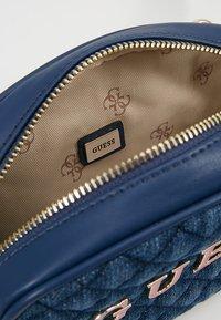 Guess - PASSION XBODY BELT BAG - Bum bag - blue - 4