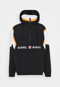Karl Kani - RETRO BLOCK REVERSIBLE - Windbreaker - black - 0