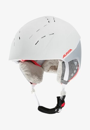 SPICE - Casco - white/flamingo matt
