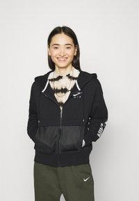 Nike Sportswear - Mikina na zip - black/white - 0