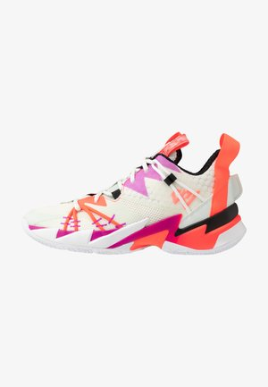 WHY NOT SE - Basketball shoes - sail/black/spruce aura/flash crimson/hyper violet