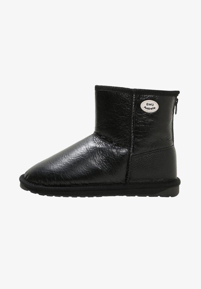 STINGER MINI ZIP - Ankle boots - black