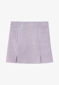 PULL&BEAR - A-linjekjol - dark purple - 5